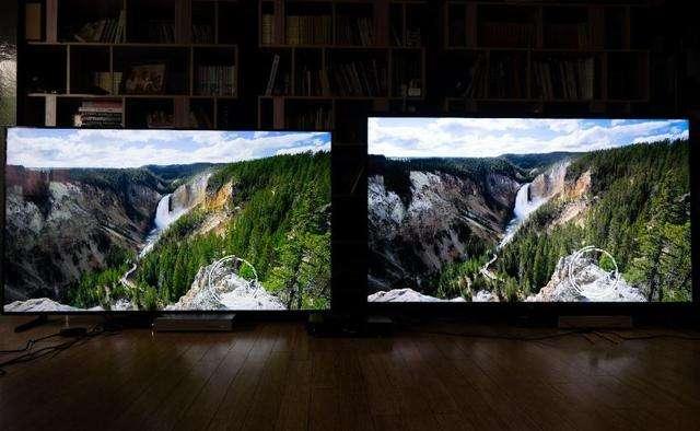 三星Q900R和索尼Z9G旗舰8K电视