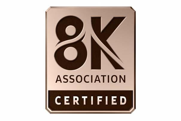 8K协会的8KA Certified8K电视认证标签