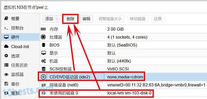 PVE虚拟机安装黑群晖图文教程10