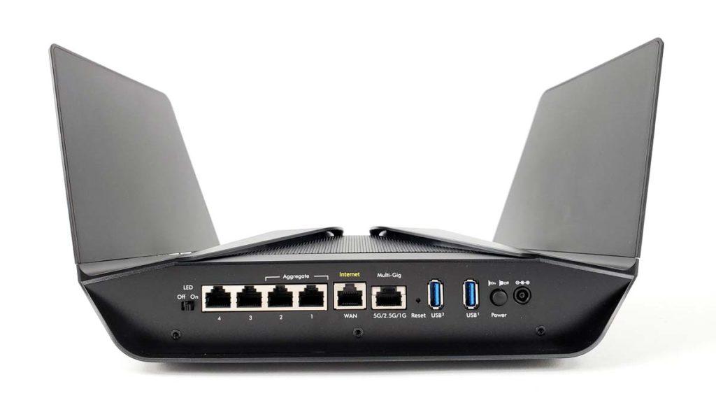 RAX120接口5G2.5G网口USB3.0链路聚合