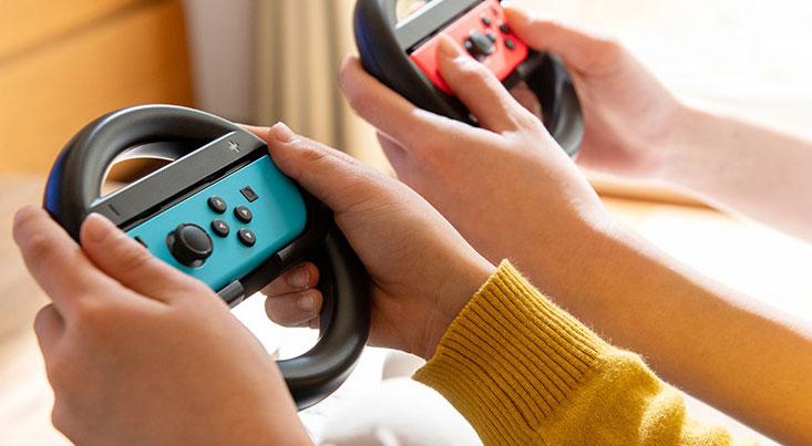 任天堂Nintendo-Switch方向盘配件