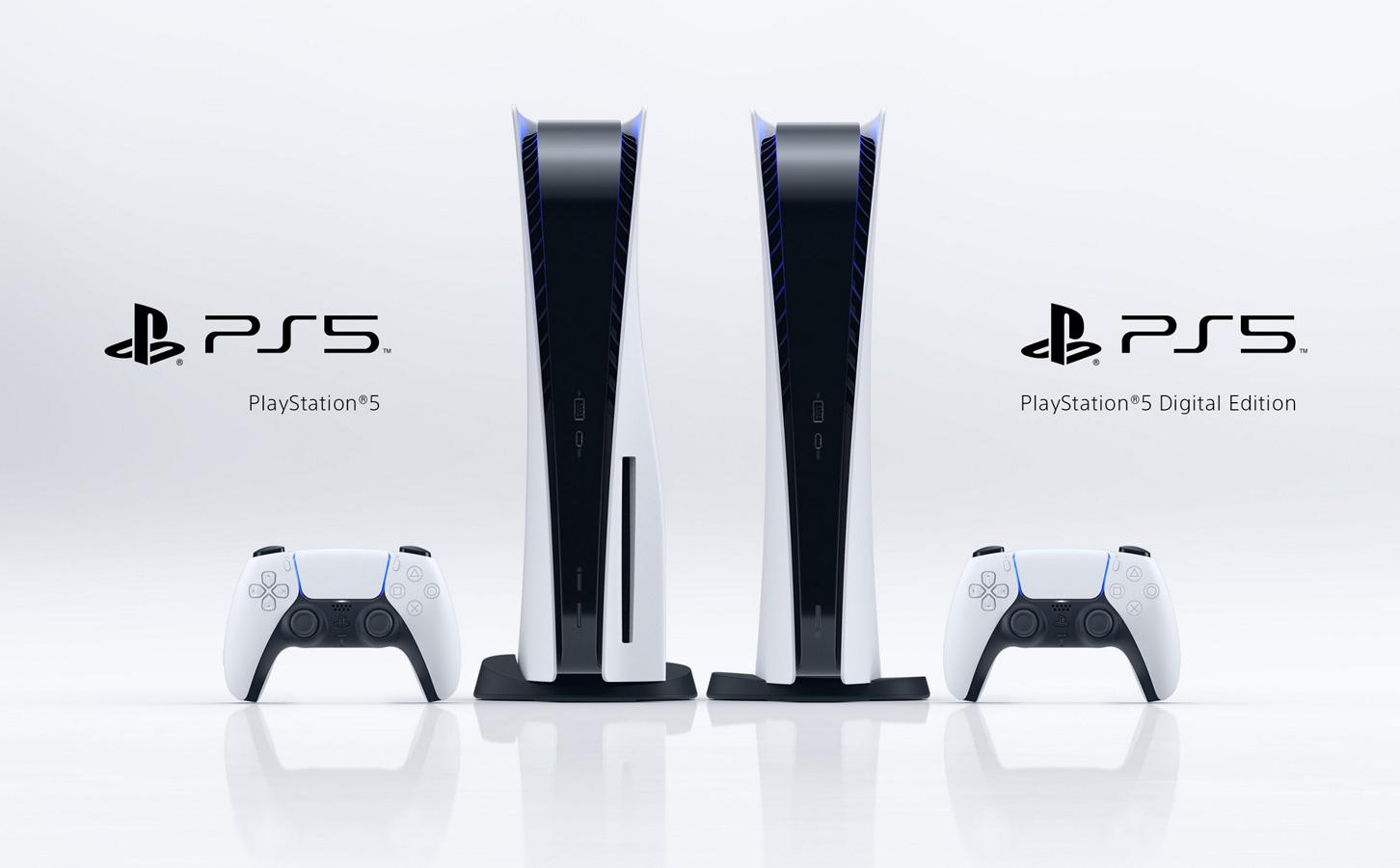 PS5标准版和数字版