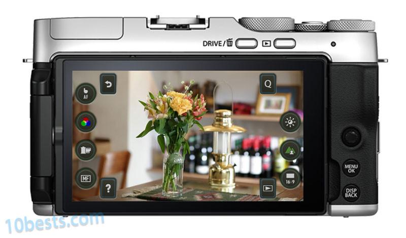 富士X-A7相机的菜单交互和按键分布